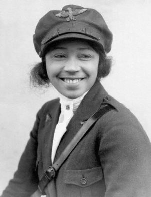 24 Jan 1923 --- 1/24/1923- Photographic portrait of Bessie Coleman, first black woman aviatrix. BPA2# 364 --- Image by © Underwood & Underwood/CORBIS