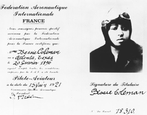 bessie-coleman-pilot-license