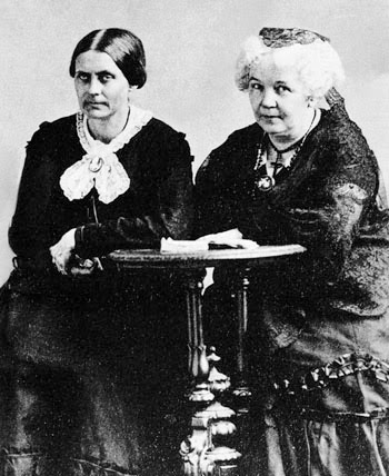 SusanBAnthony and ElizabethCadyStanton