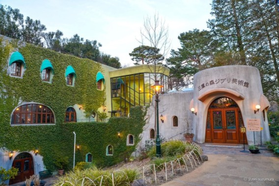 Ghibli-museum-outside-front