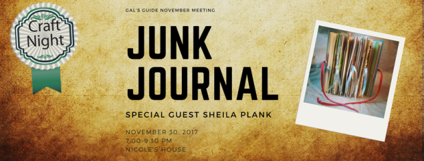 Gal's Guide November Meeting