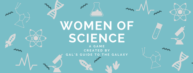 Women of Science header