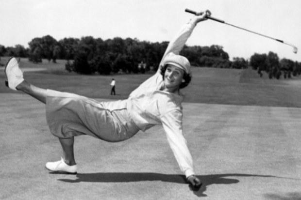 babe golf fun