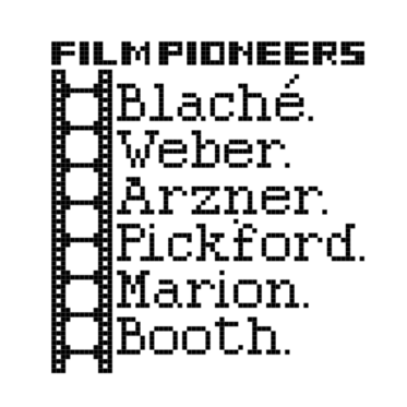 Film Pioneers cross stitch no lines