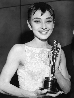"""The 26th Annual Academy Awards"" Audrey Hepburn  1954 ** I.V."