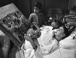 frida in bed