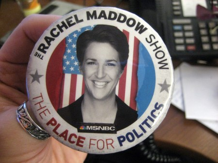 Rachel Maddow button