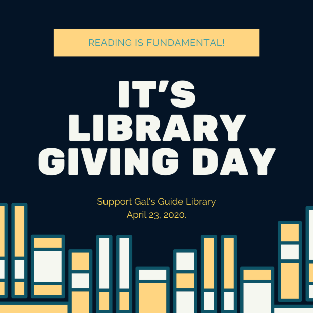 It's Library Giving Day